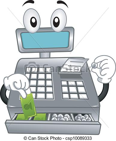 Cash register Stock Illustrations. 2,430 Cash register clip art.