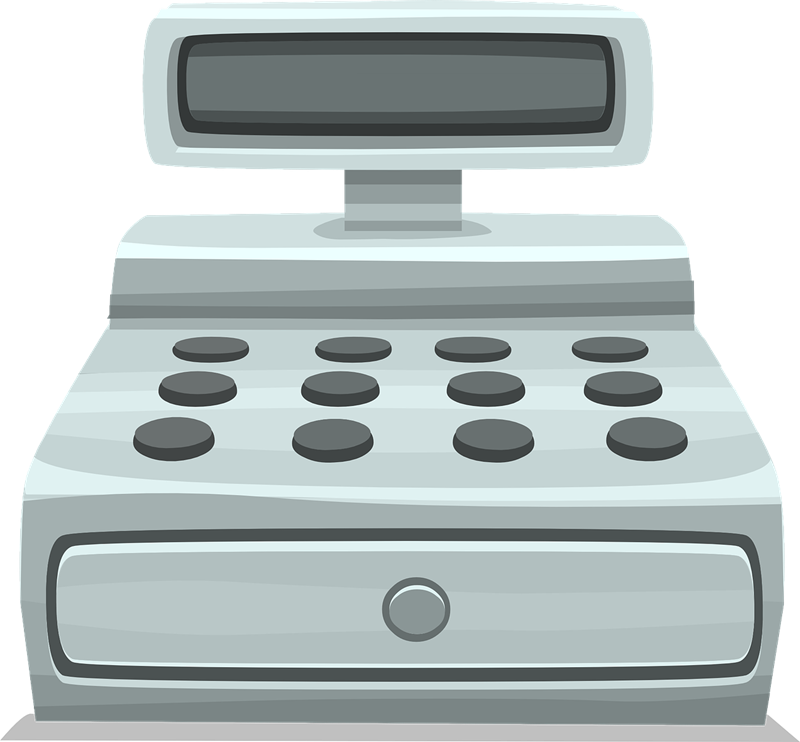 Free to Use & Public Domain Cash Register Clip Art.