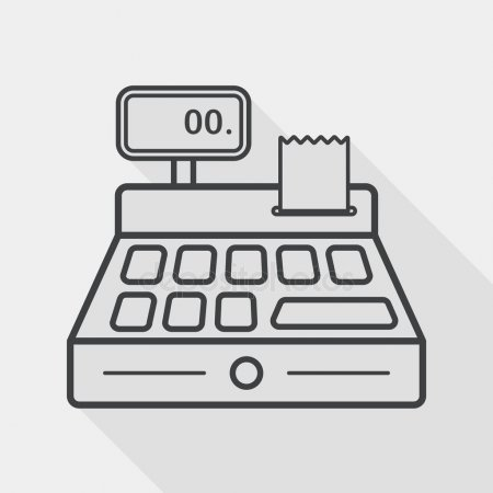 Old cash register Stock Vectors, Royalty Free Old cash register.