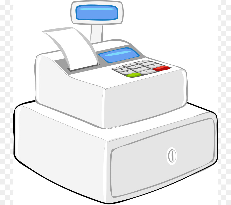 Cash register Money Free content Clip art.