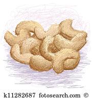 Cashews Clipart Vector Graphics. 303 cashews EPS clip art vector.
