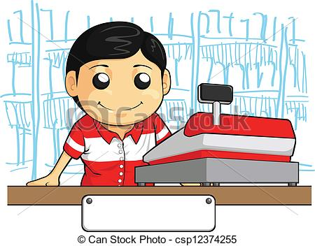 Cashier Stock Illustrations. 2,135 Cashier clip art images and.