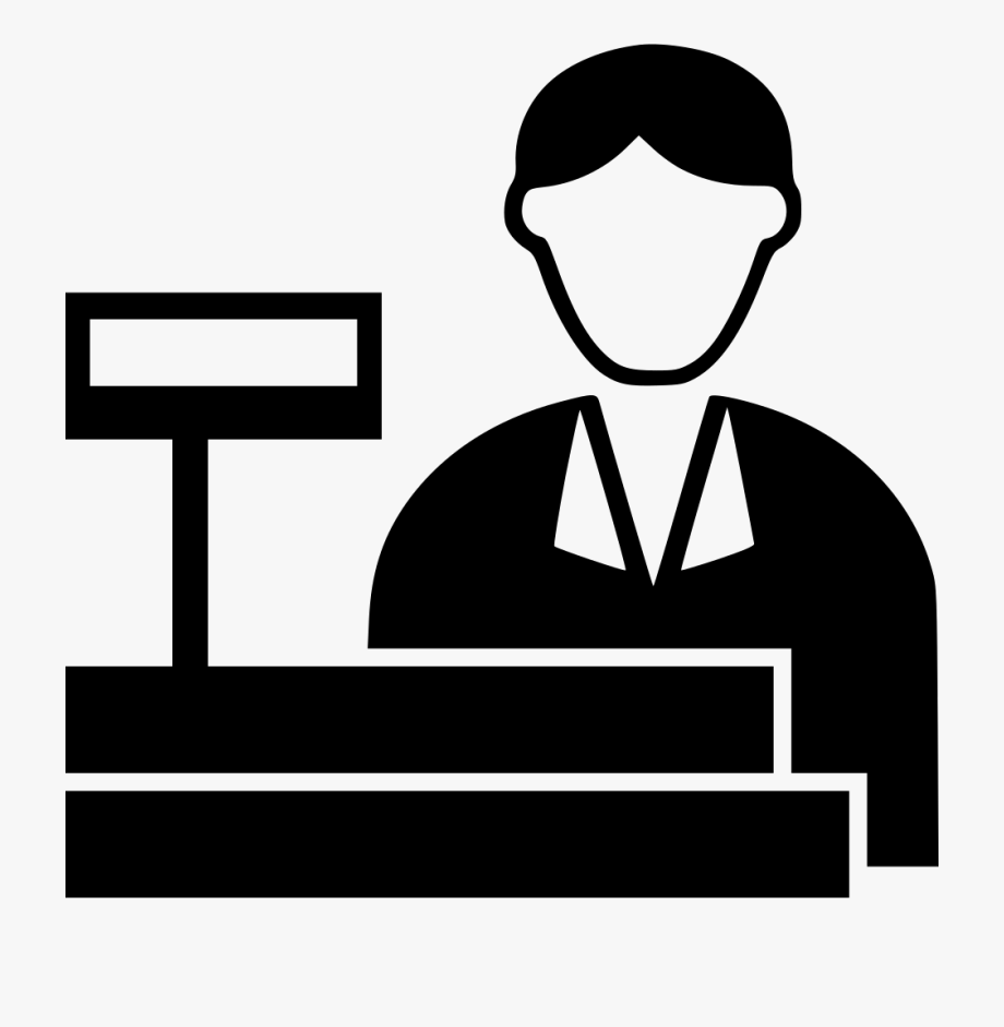 Cashier Svg Png Icon Free Download.