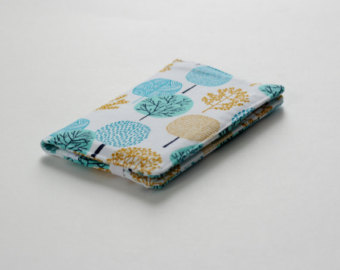 Fabric wallet.