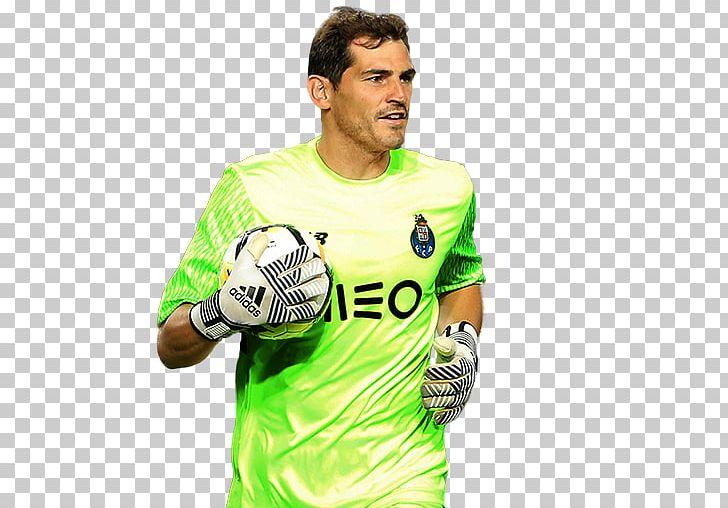 Iker Casillas FIFA 18 Jersey FC Porto Primeira Liga PNG.