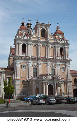 "Stock Photography of ""Church of St. Casimir, Vilnius, Lithuania."