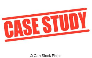 Clipart Vector of Case Study rubber stamp. Grunge design with dust.