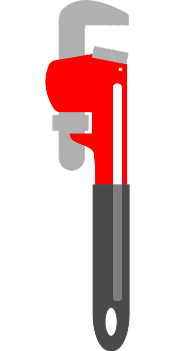 Free vector graphic: Pipe Wrench, Pipe Tongs.