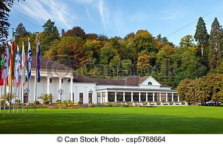 Stock Photo of Casino Baden.
