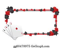 Casino Frame Clip Art.