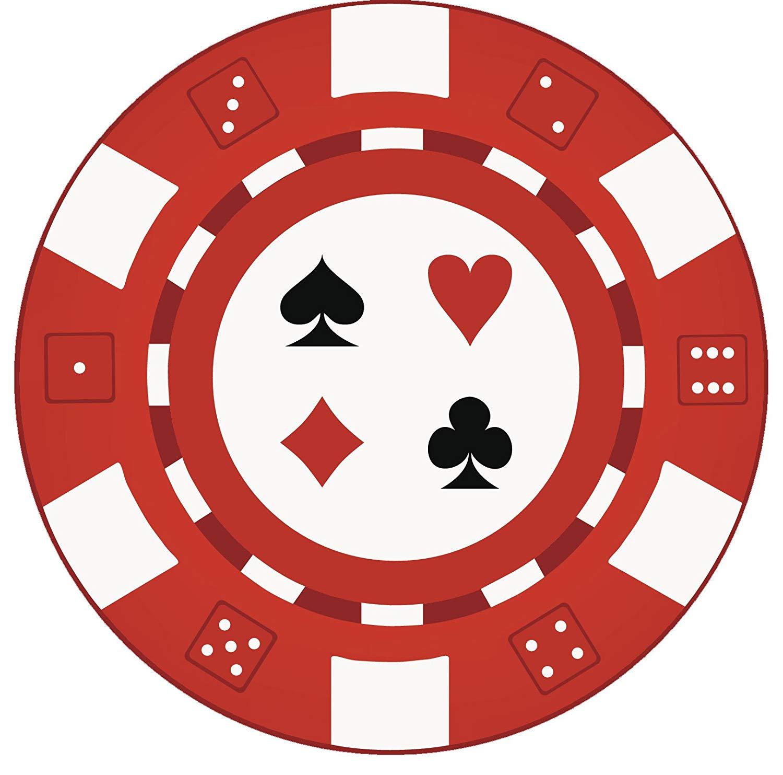Amazon.com: Poker Casino Chip Vinyl Decal Sticker (8\