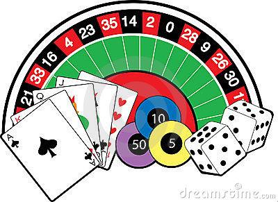 Casino Clip Art Images.