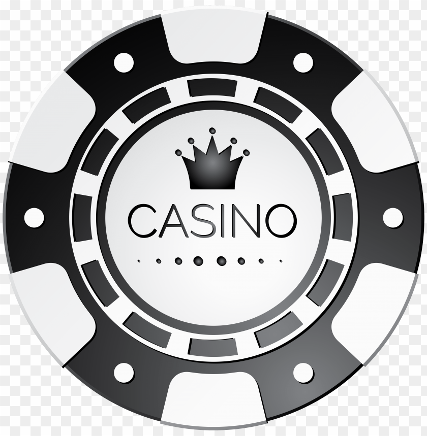 Download white casino chip clipart png photo.