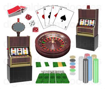 Casino Clipart.