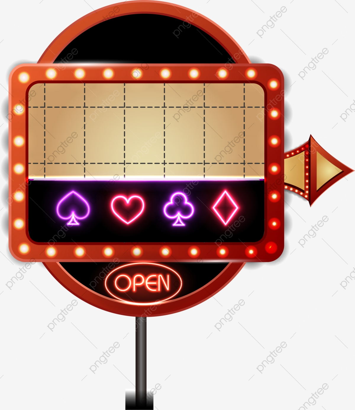 Red Casino Label, Label Clipart, Gules, Casino PNG Transparent Image.