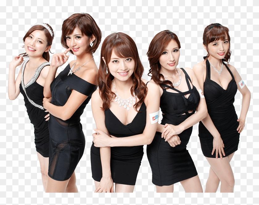 Casino Girls Png.