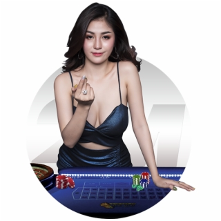 Casino Girl Png.