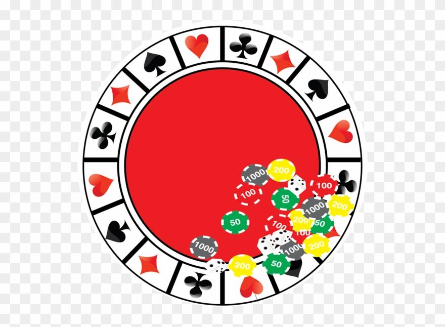Casino Night 9inch Plate.