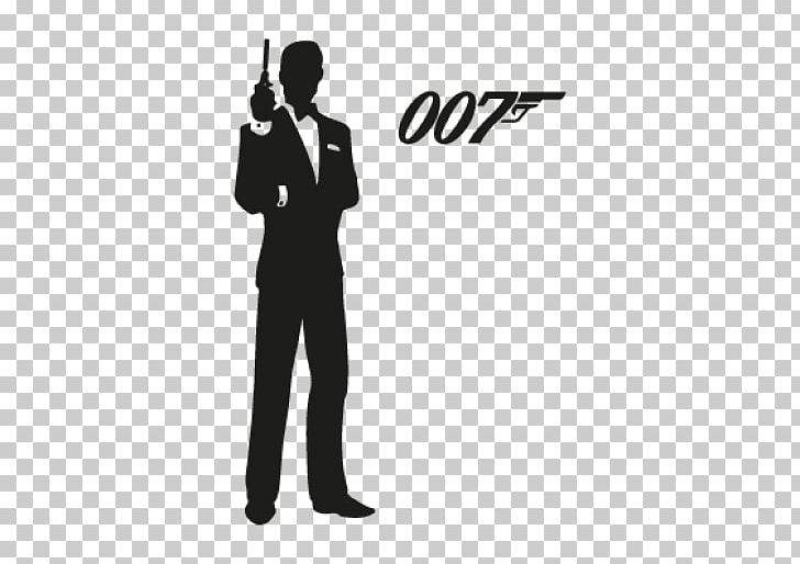 James Bond Film Series Logo Silhouette PNG, Clipart, Black.