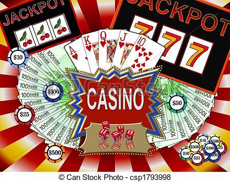 Casino clipart line art, Casino line art Transparent FREE.