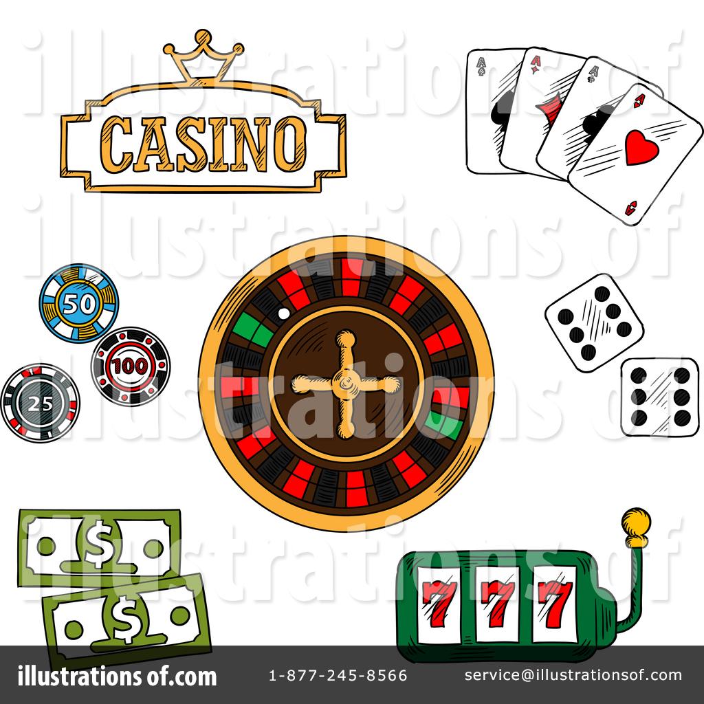 Casino Clipart #1388522.