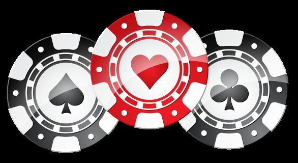 Fichas de casino png.