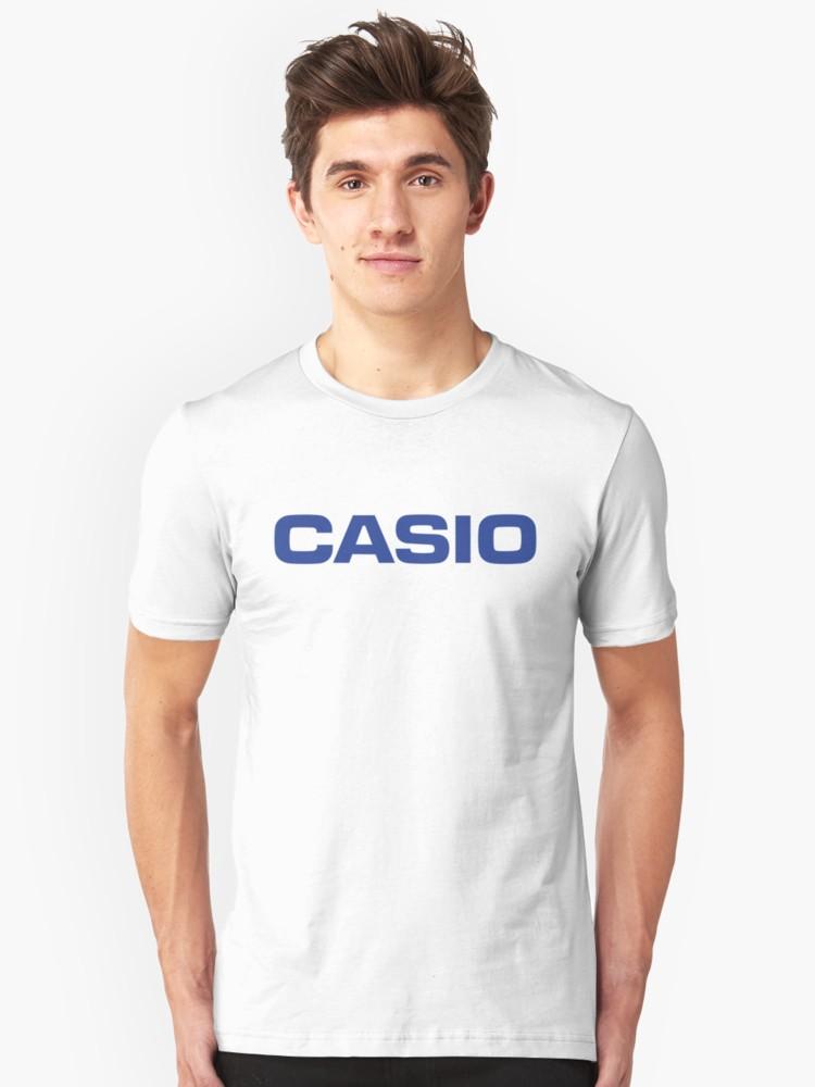 \'Retro Classic Blue Casio Logo \' T.