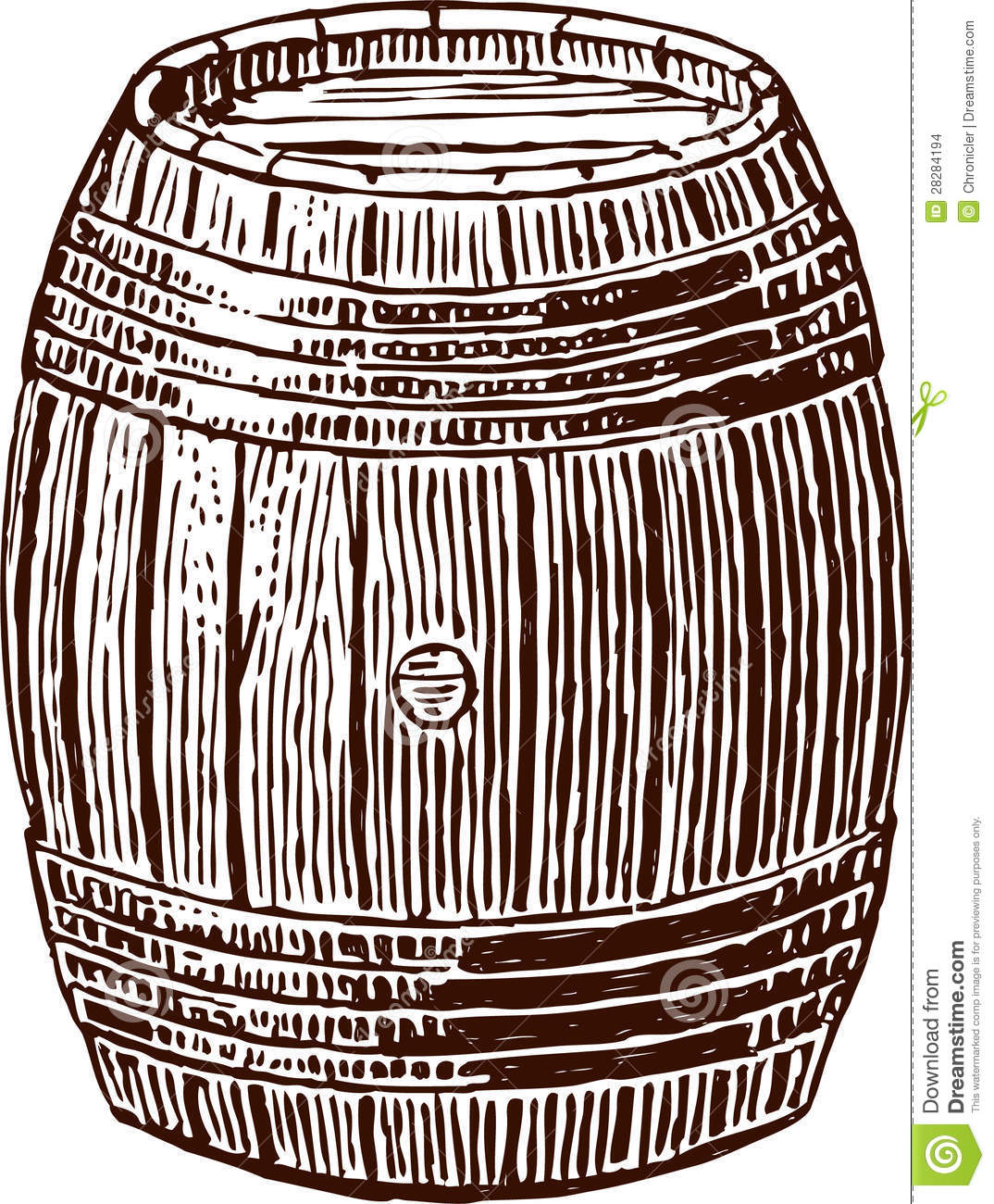 Wine Cask Stock Images.