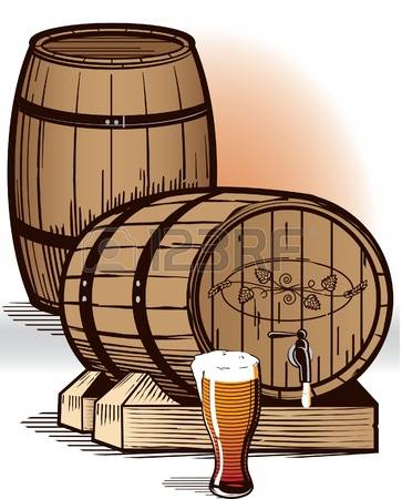 1,639 Wooden Cask Stock Vector Illustration And Royalty Free.
