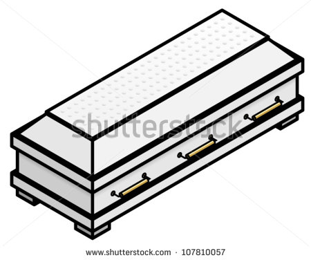 Casket Drawings Clipart.