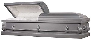 Many choices among caskets: a way to express values.
