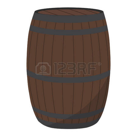 4,544 Wooden Barrel Stock Vector Illustration And Royalty Free.