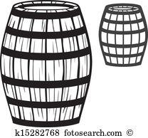 Old barrel Clip Art and Illustration. 2,315 old barrel clipart.