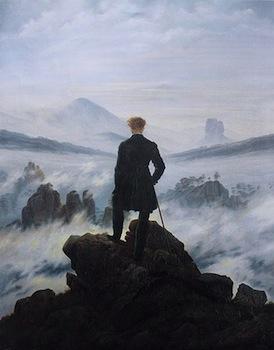 Friedrich, Monk by the Sea (video).