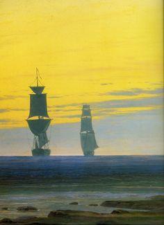 Caspar David Friedrich: Romantic Landscape Painter.
