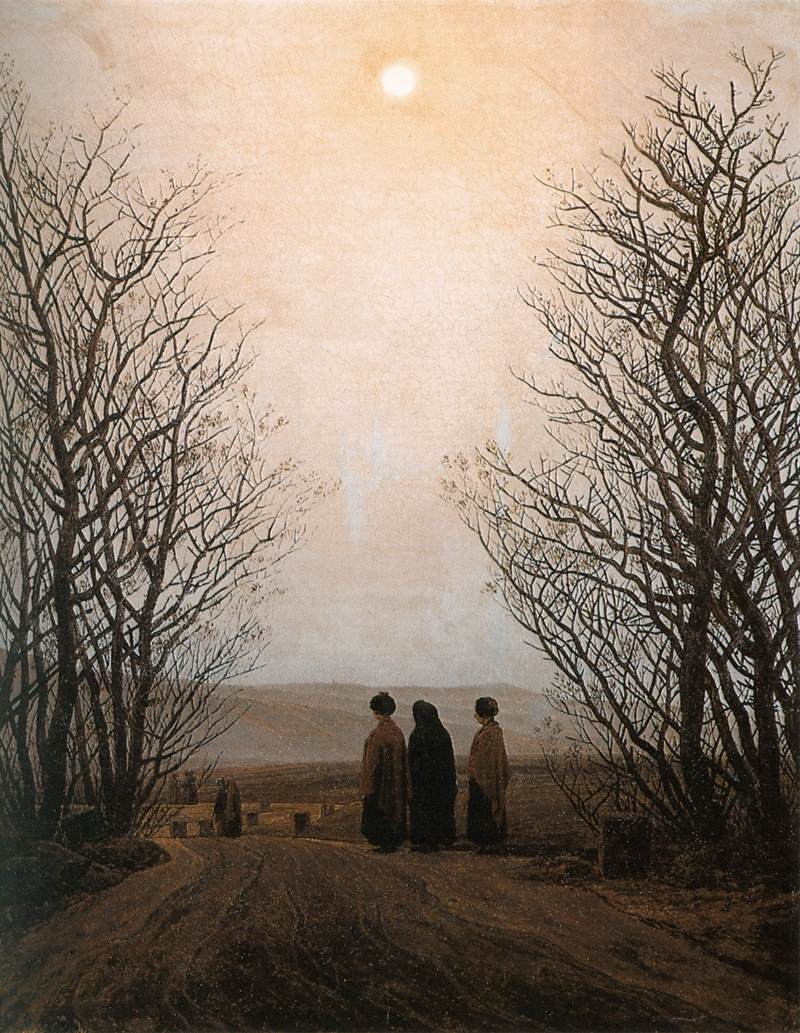 Caspar David Friedrich Morning.