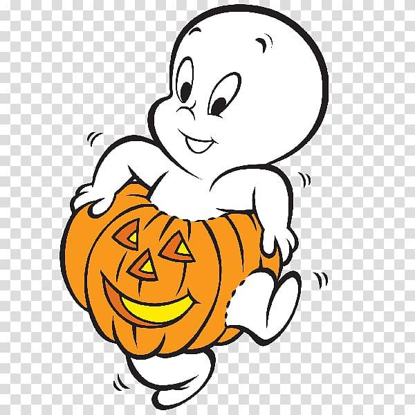 Casper Halloween Ghost Cartoon , Casper transparent.