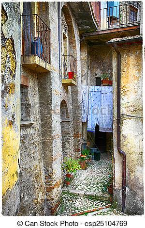 Stock Image of Casperia,Rieti,Italy..