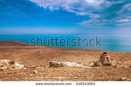 Caspian Sea Stock Photos, Royalty.