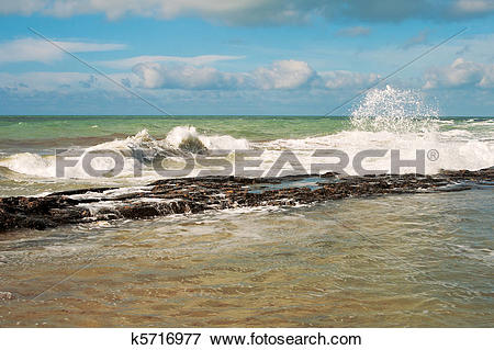 Picture of Shore of the Caspian Sea. k5716977.
