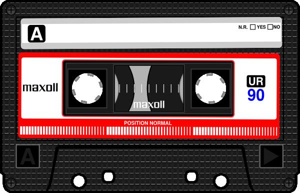 Cassette Clip Art at Clker.com.