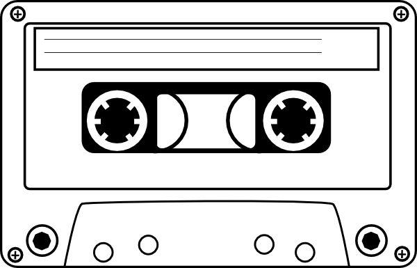 Cassette Clipart.