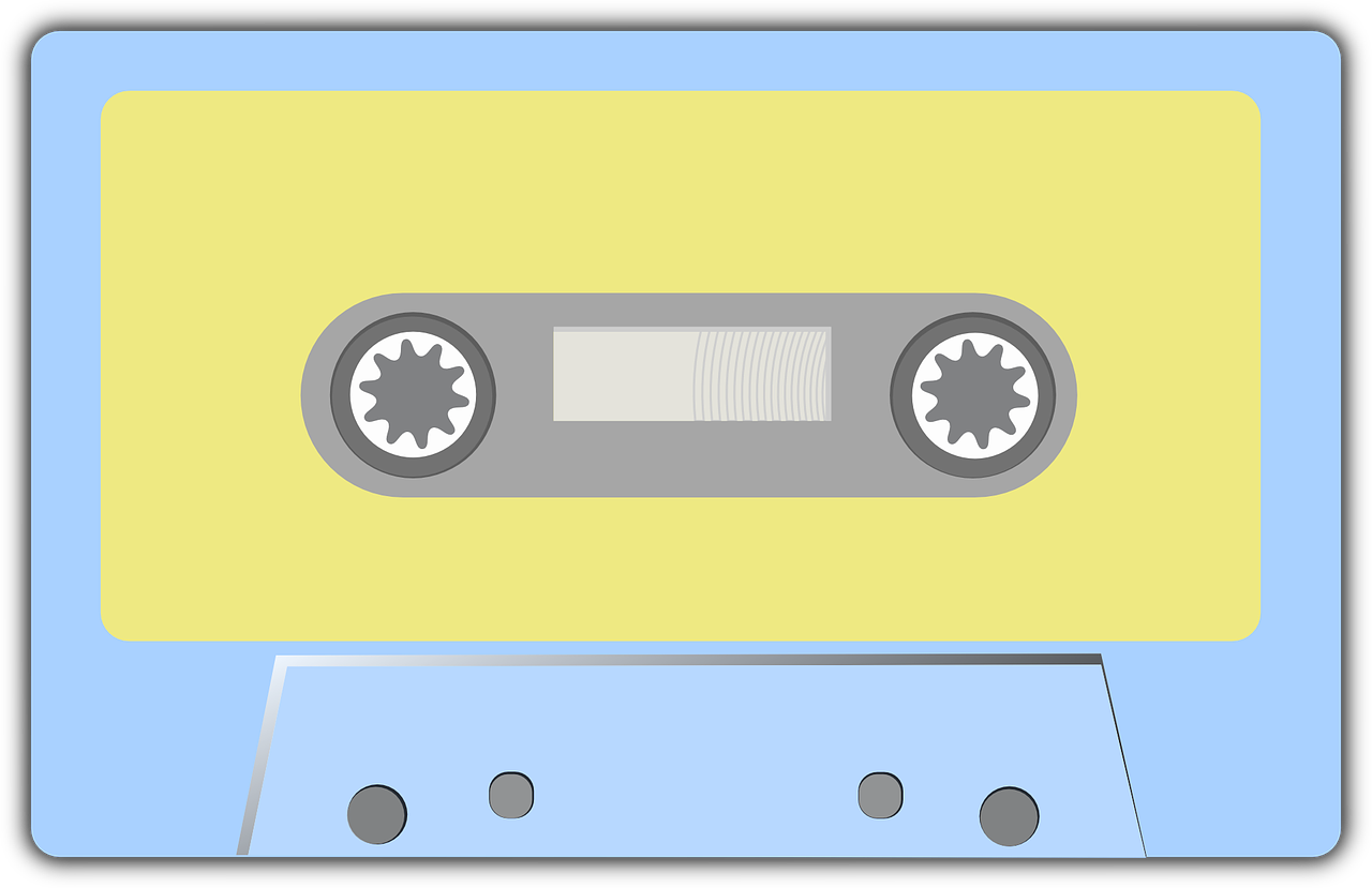 Free to Use & Public Domain Cassette Clip Art.