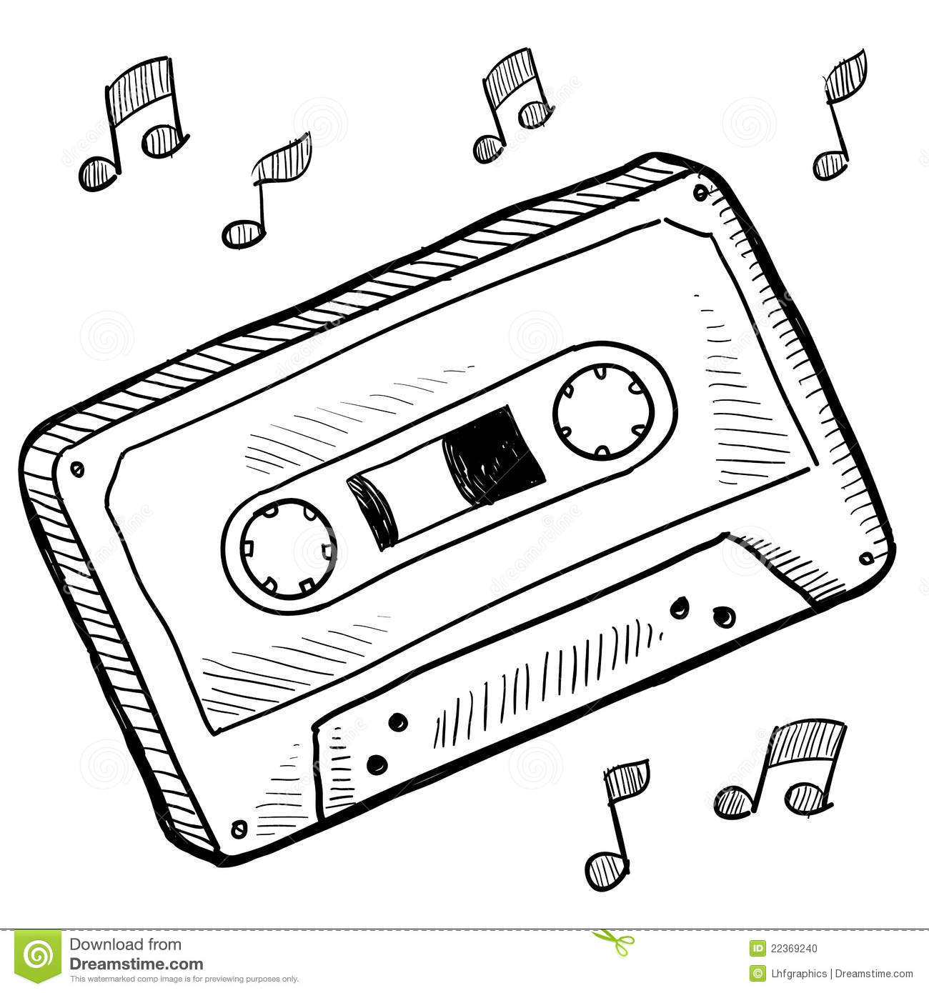 Drawings Of Tapes Clipart.