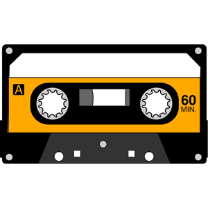 Cassette Tape clipart, cliparts of Cassette Tape free.