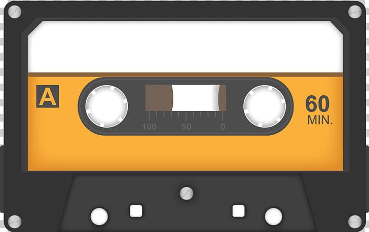 Vintage Audio Cassette, 60 min. cassette tape PNG clipart.