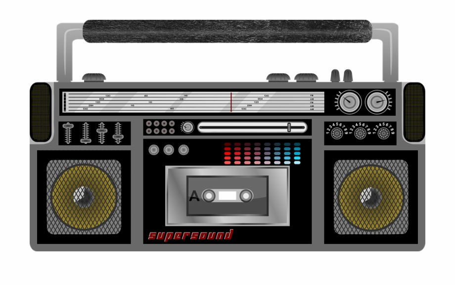 Radio Cassette Player Cassette Tape Player Audio.