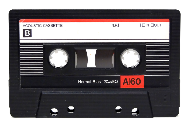 Download Free png Audio Cassette Tape, 1993..