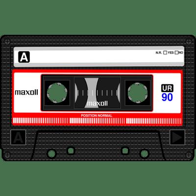 Audio Cassette transparent PNG images.