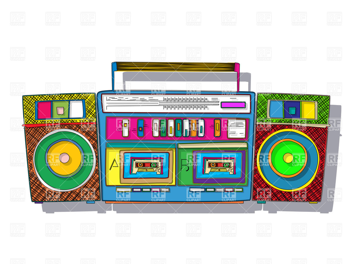 Tape Player Clipart.